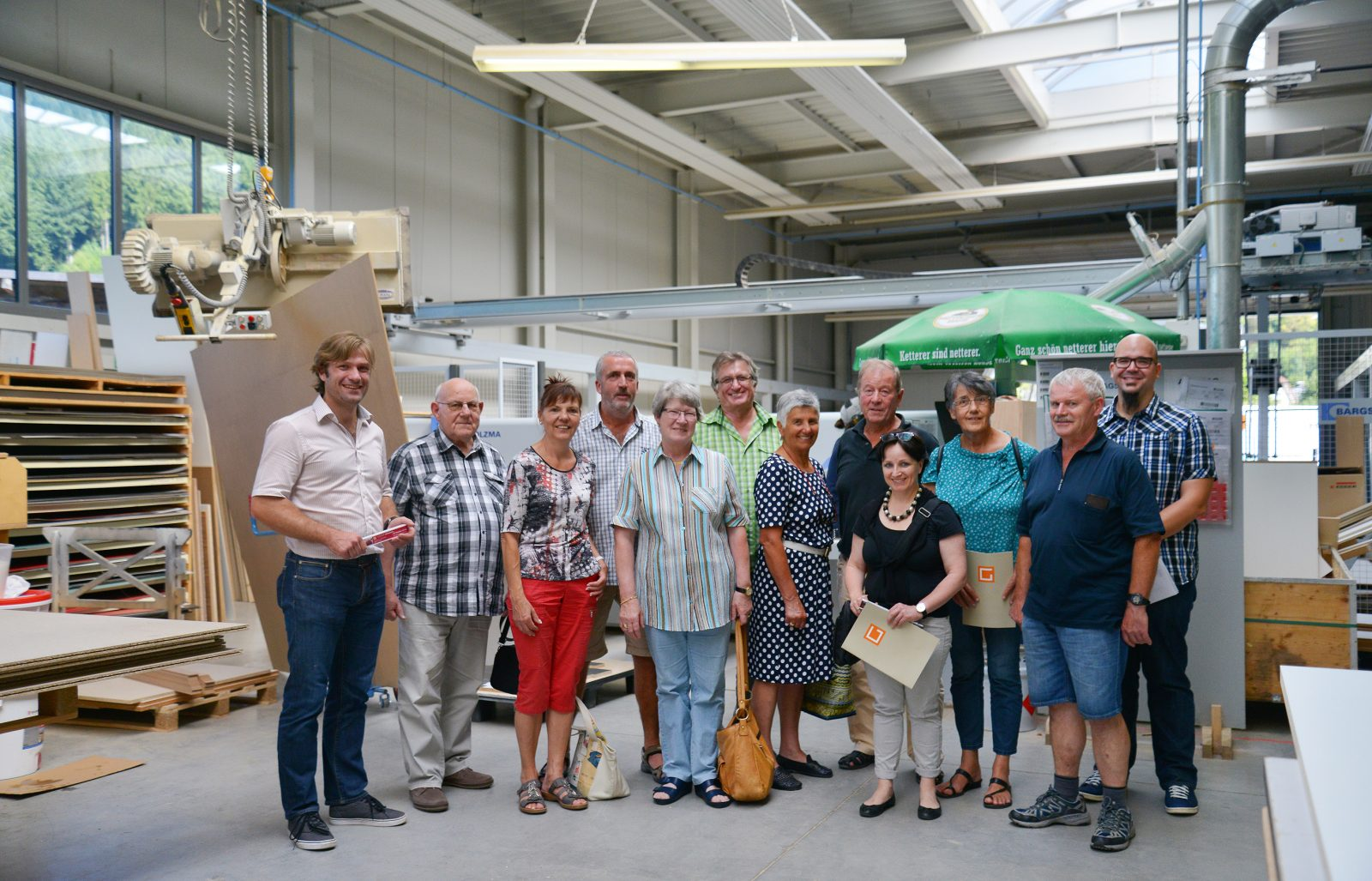 Zehn OT-Leser zu Gast bei Geiger Raumkonzepte