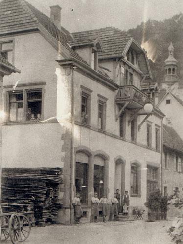 Erweiterung der Schreinerei 1938