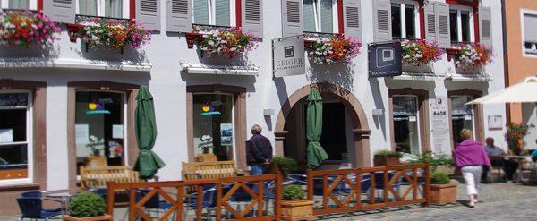 Stammsitz Geiger in der Hauptstraße Wolfach