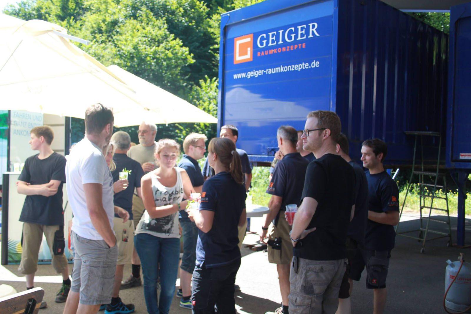 Geiger Raumkonzepte - 65 Minuten Mittagspause mit Hitradio Ohr