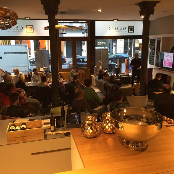 Linn Lounge zu Gast bei Geiger Raumkonzepte in Wiesbaden